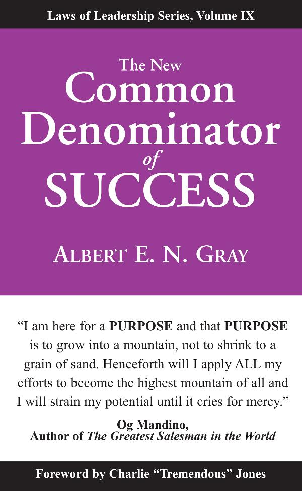 New Common Denominator of Success